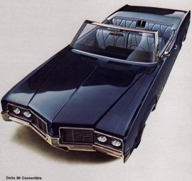 1969 Oldsmobile Delta 88 Convertible