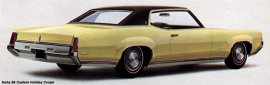 1969 Oldsmobile Delta 88 Custom Holiday 2 Door
