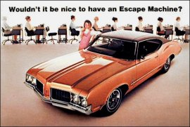 1970 Oldsmobile Cutlass S Sports 2 Door (6 and V8)