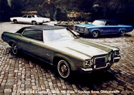 1971 Oldsmobile Delta 88 Hardtop 4 Door