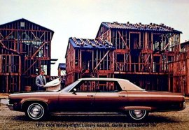 1972 Oldsmobile 98 Luxury 4 Door