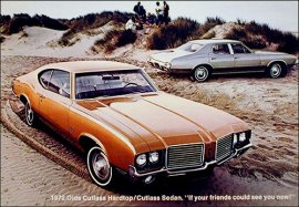 1972 Oldsmobile Cutlass Hardtop 2 Door