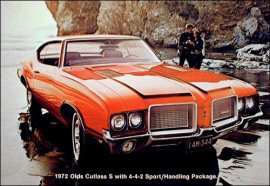 1972 Oldsmobile Cutlass S Sports 2 Door