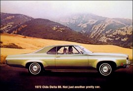 1972 Oldsmobile Delta 88 2 Door