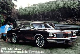 1974 Oldsmobile Cutlass S Colonnade Hardtop 2 Door