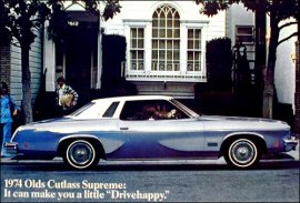 1974 Oldsmobile Cutlass Supreme Colonnade Hardtop 2 Door