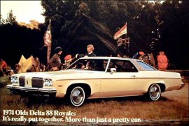 1974 Oldsmobile Delta 88 Royale 2 Door