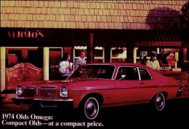 1974 Oldsmobile Omega 2 Door