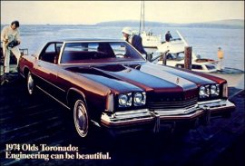 1974 Oldsmobile Toronado Custom 2 Door