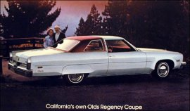 1975 Oldsmobile 98 Regency 2 Door