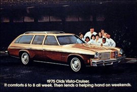 1975 Oldsmobile Vista Cruiser