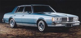 1981 Oldsmobile Cutlass LS 4 Door
