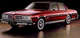 1981 Oldsmobile Delta 88 Royale 4 Door