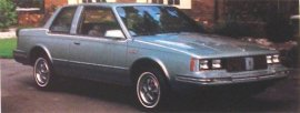 1984 Oldsmobile Cutlass Ciera LS 2 Door