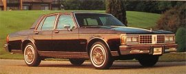 1985 Oldsmobile Delta 88 Royale 4 Door