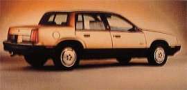 1986 Oldsmobile Cutlass Calais 4 Door