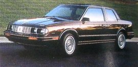 1986 Oldsmobile Cutlass Ciera 2 Door