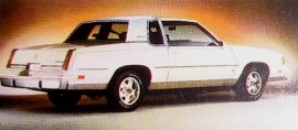 1986 Oldsmobile Cutlass Supreme Salon 2 Door