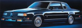 1987 Oldsmobile Cutlass Supreme Brougham 2 Door