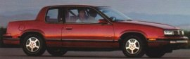 1988 Oldsmobile Calais 2 Door
