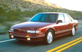 1990 Oldsmobile Cutlass Supreme International 4 Door