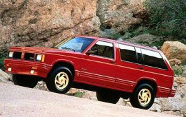 1993 Oldsmobile Bravada AWD 4 Door