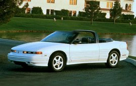 1995 Oldsmobile Cutlass Supreme Convertible 2 Door