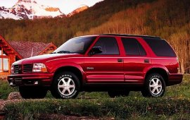 2001 Oldsmobile Bravada AWD 4 Door