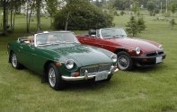 Easy Mg midget car parts nice