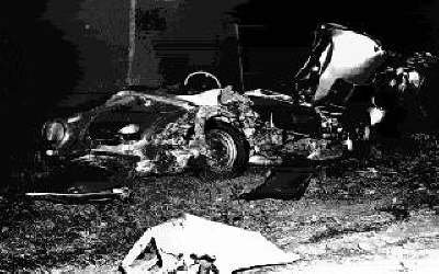 James Dean Porsche Spyder Accident
