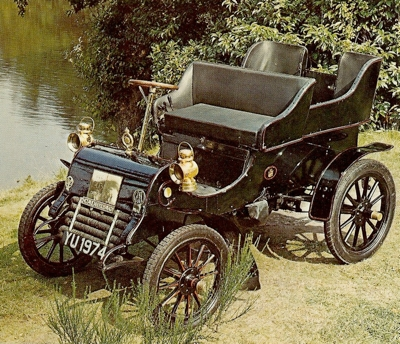 1903 Cadillac 4 Seater 7hp