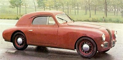 1947 Fiat 1100S Coupe
