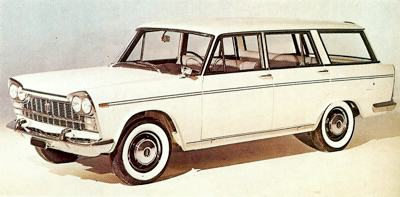 1959 Fiat 2300 Station Wagon