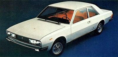 The Fiat 120 Coupe with bodywork by Pininfarina