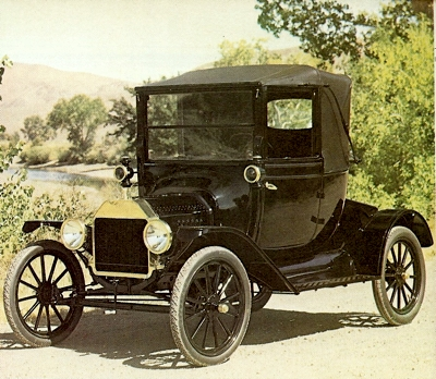1915 Ford Model T two-seater 'Doctors Coupe'