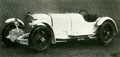 1931 Mercedes-Benz SSKL, powerec by a 7.1 liter six-cylinder engine developing 300 bhp