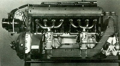 1934 W25 Grand Prix Car's engine