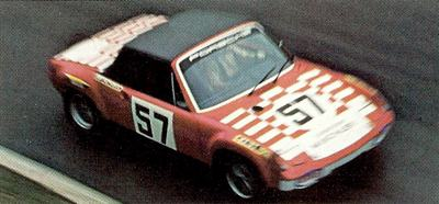 VW-Porsche 914 in action at Monza in 1973