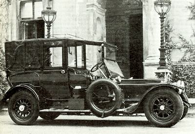 1909 Rolls-Royce 40/50 with coachwork by Hooper