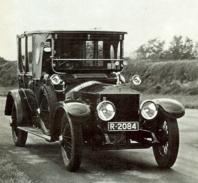1914 Rolls-Royce Silver Ghost, with Landaulette coachwork