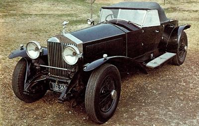 1926 Rolls-Royce Phantom I roadster
