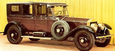 1923 Rolls-Royce Springfield USA Silver Ghost