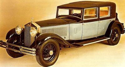 1930 Rolls-Royce Phantom II with Hooper body