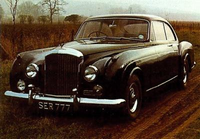 1958 Bentley S1 Continental Coupe