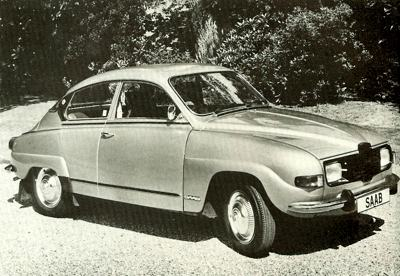 SAAB 96 in final production guise, as a 25th Anniversary Special