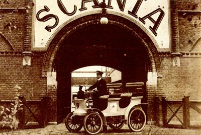 1902 Scania four-seater runabout
