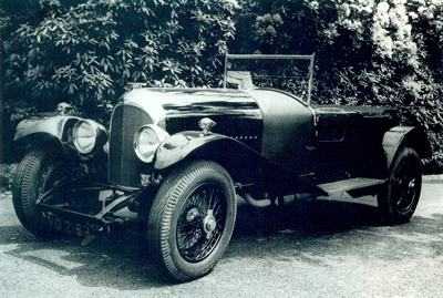 1925 Vanden Plas two-door sports on Bentley 3 liter chassis
