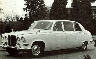 1974 Daimler Limousine with Vanden Plas body, powered by a Jaguar 4.2 liter XK series motor