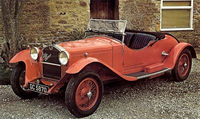 1928 Alfa Romeo 6c Sport with Zagato touring body