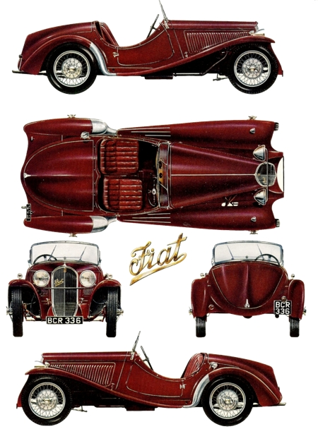 1935 Fiat Tipo 5085 Balilla Sports two seater